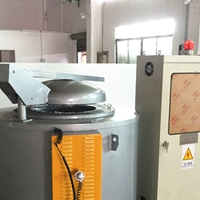 东莞坩埚式熔铝炉 铝锭熔化炉