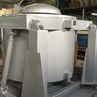 东莞液压可倾式熔化炉 翻转熔铝炉