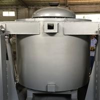 新能源电机壳铸造可倾式铝合金熔炼炉