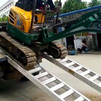 铝爬梯挖机铝爬梯挖机铝跳板