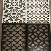 鄂州艺术铝窗花装饰供应商 隔断铝窗花价格