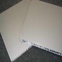 撫州沖孔蜂窩板隔斷廠家直銷 石紋蜂窩鋁板