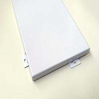室内白色材料铝单板 造型异形订做