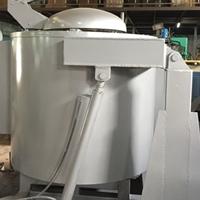 惠州可倾式熔铝炉 翻转式铝合金熔炼炉