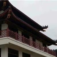 景区古建装饰30-30管铝窗花合作厂家