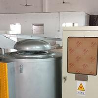 东莞300KG坩埚熔铝炉 压铸机边保温炉