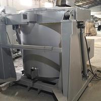 东莞燃气液压可倾式熔铝炉 燃气熔铝炉