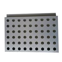 广汽传祺门头优质镀锌钢板装饰板 冲孔板