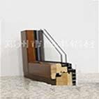 郑州生产加工铝木复合门窗铝型材