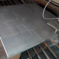专业 LY12铝板 机加工硬质铝板 冲孔铝板
