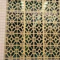 重庆艺术镂空铝格子 铝艺仿古铝窗花厂家