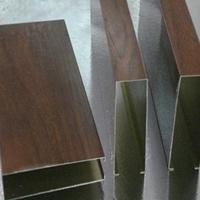 承德仿木纹铝方通装潢 喷粉铝方管厂家价格