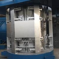 中頻熔鋁爐