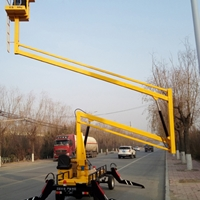 12米曲臂升降機 文昌市高空安裝升降車