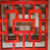 济南港式铝窗花价格 幕墙木纹铝窗花供应商