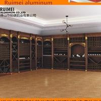装饰铝合金型材 家具铝材 工业铝型材批发