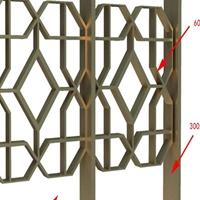 邢臺氟碳鋁窗花價格  外墻裝飾鋁窗花供應商