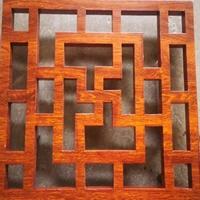 六安仿木紋鋁窗花隔斷  噴粉鋁窗花供應商