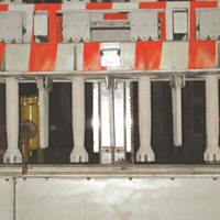 四工位转子在线溜槽式除气机