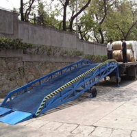 10噸移動登車橋 建陽市液壓裝卸升降橋