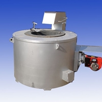 供应燃油燃气铝合金工业溶解炉