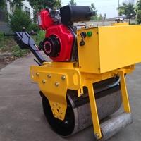 小单轮压路机 手扶单轮压土机