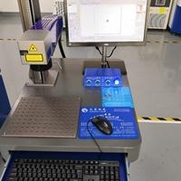 氧化鋁打黑專用激光鐳雕機直供