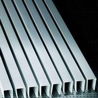 安装简易清洗方便铝方通学校铝格栅天花