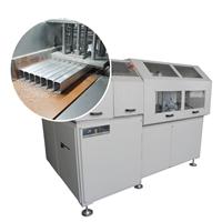 非标定制铝合金角码机 小型全自动锯切机
