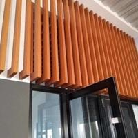 铝方管天花 外墙铝方管装修