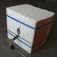 锅炉保温用硅酸铝纤维模块 陶瓷纤维折叠块