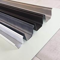 铝合金天沟厂家 K型彩铝檐沟 装饰雨水槽