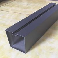 承德<em>鋁型材</em>方通訂做 烤漆鋁方管廠家供應