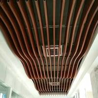 临沂弧型铝方通订做 异型铝方管铝天花厂家