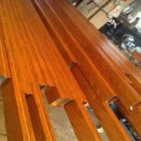 信阳仿木纹铝方管订做 材料四方铝管价格