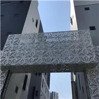 设计定制店面门头雕花铝单板
