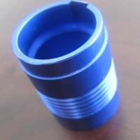 定制铝加工蓝色氧化