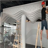 浙江弧形鋁單板-圓形包柱鋁板加工裝飾
