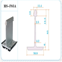 优质铝合金支座430铝镁锰屋面固定支座