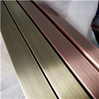 仿古铜色拉丝铝单板-电镀铝单板幕墙定制