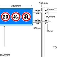 道路標志桿交通標志桿功能與區別