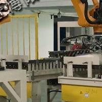 碳銨自動碼垛機 肥料廠倉庫碼垛設備