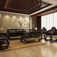冰裂紋鋁屏風酒店裝飾仿古銅雕刻鋁窗花