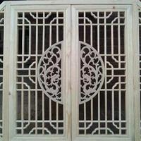 別墅裝飾焊接鋁花格防盜網窗雕刻花窗