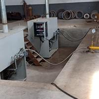 150KG燃气熔铝炉 坩埚式熔炼炉