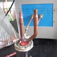 空調冰箱冷凝器銅管焊接機、銅管與鐵管焊接