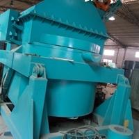 2000KG铝合金集中熔化炉 熔炼炉