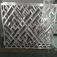 铝花格定制-不规则几何四方管焊接铝花格