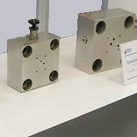 订做液压插装阀控制盖板 油路盖板
