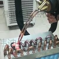 蒸发器铜管铝管焊接机热泵机焊接用什么焊机